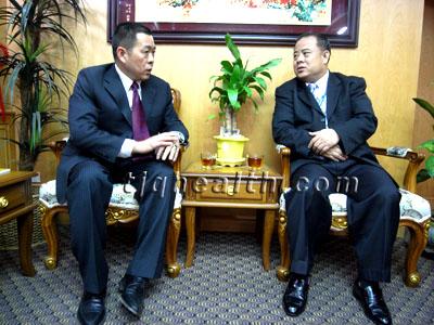 易胜博线上官网权释延豹受泰国国务院副总理接见